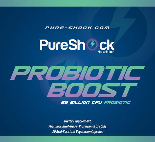 Probiotic Boost - A Four-Strain Probiotic Totaling 30 Billion CFU per Capsule